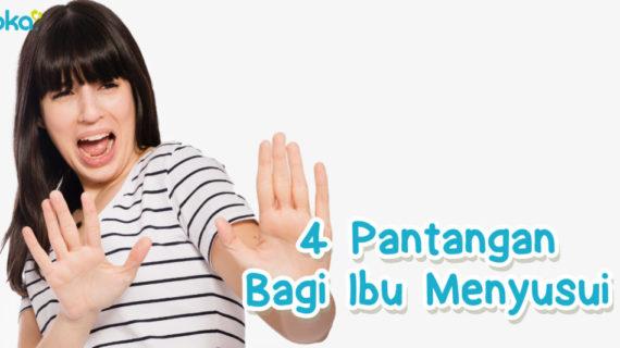 4 Pantangan bagi Ibu Menyusui