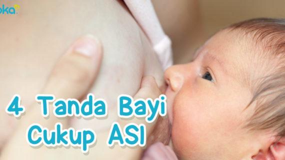 4 Tanda Bayi terpenuhi dengan ASI yang cukup